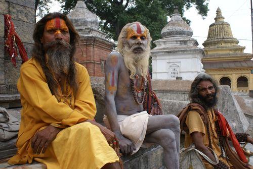 Hindu Sadhu's in Kathmandu