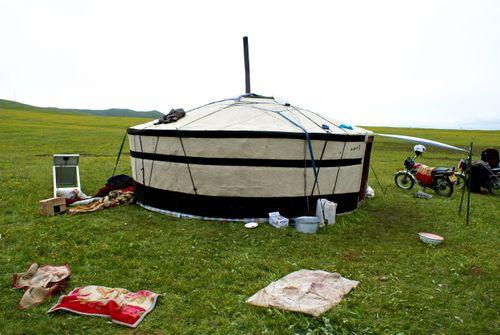 Mongolian style yurt
