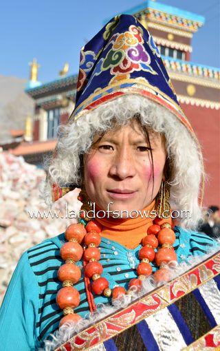 Kham Tibetan nomad woman
