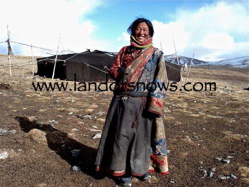 Kham nomad woman