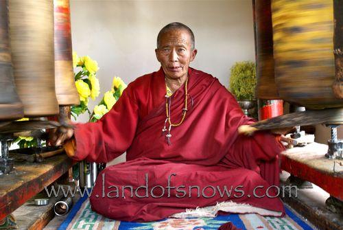 Monk at Gar