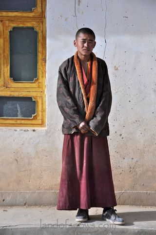 Monk from Qinghai Lake