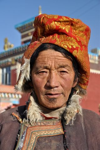 Kham man from Jyekundo