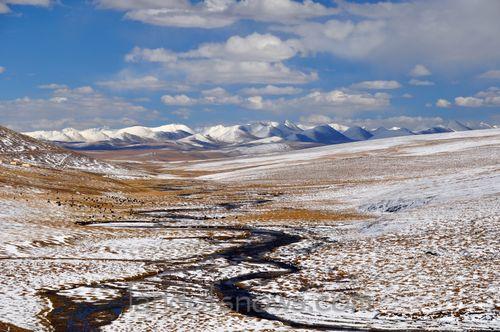 Snow covered Chumarleb county