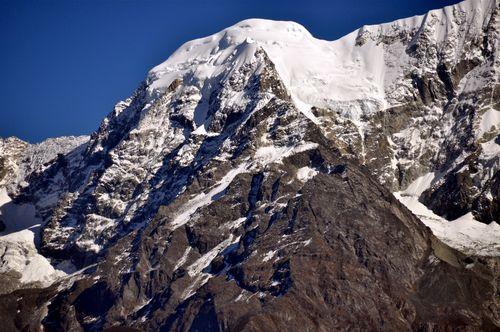 nearby mountain