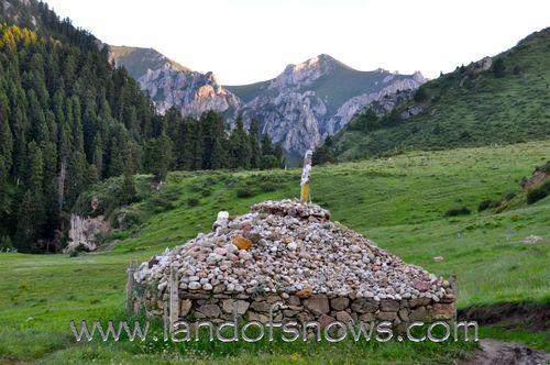 Mountains around Taktsang Lhamo