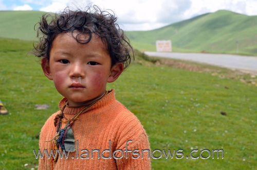 nomad boy from Litang