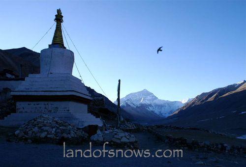 Everest at sunrise