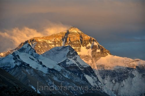 Sunset over Everest