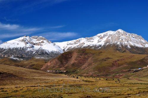 Kham, Tibet in the fall