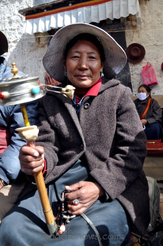 Woman in Lhasa