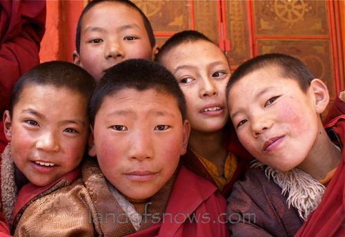 Young monks from Kham