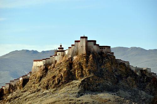The fort in Gyantse