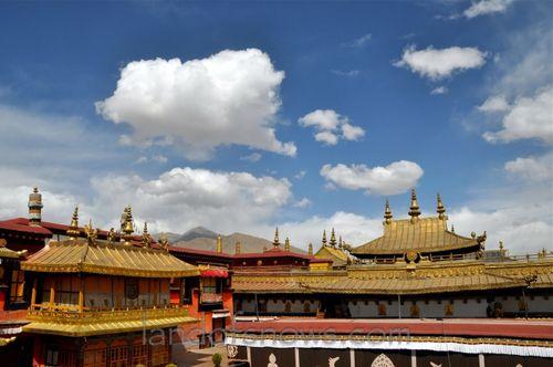 Lhasa in spring
