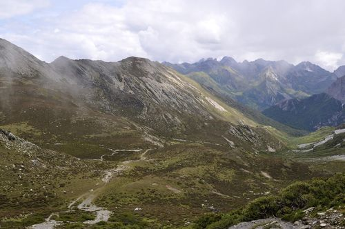 route to Second Col