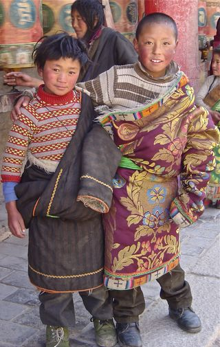 nomad boys from Amdo