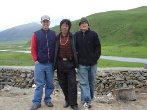 Billy_jamin_tibetan_friend
