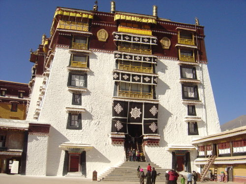 Top of the Potala